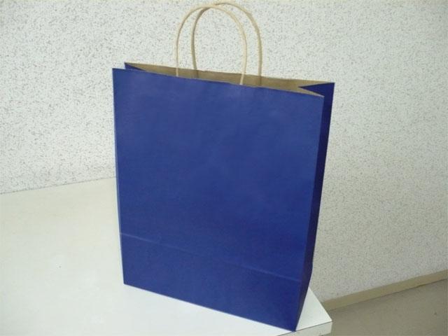 手提げ袋 マリン(青)80g /50枚