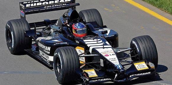 ◎予約品◎1/18  ヨーロピアン ミナルディ PS01 フェルナンド・アロンソ オーストラリアGP 2001   F1デビュー戦
