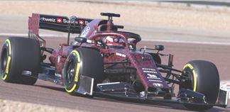 ◎予約品◎ アルファ ロメオ レーシング ザウバー F1 チーム フェラーリ C38   キミ・ライコネン バレンタインデー テスト 2019