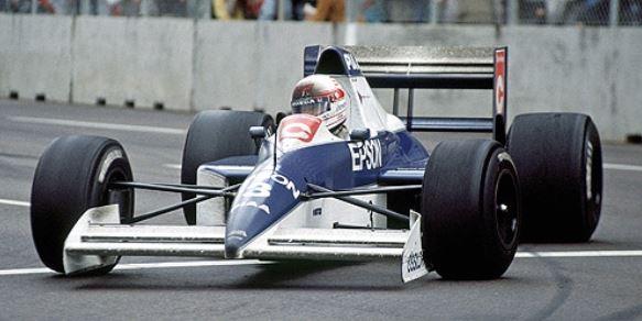 ◎予約品◎1/18  ティレル フォード 018 中嶋 悟 USAGP 1990 6位入賞