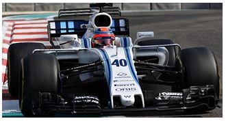 ◎予約品◎ ウィリアムズ マルティニ レーシング メルセデス FW40 ロバート・クビサ   アブダビ テスト 11月 2017