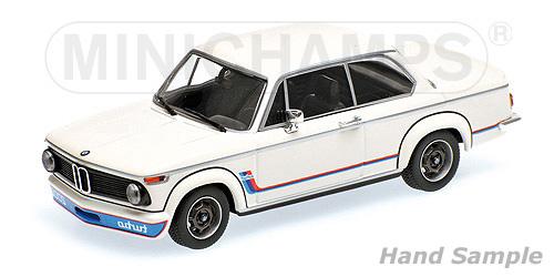 ◆1/18 BMW 2002 ターボ (1973) ホワイト
