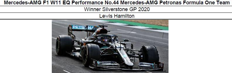 ◎予約品◎1/18 Mercedes-AMG F1 W11 EQ Performance No.44 Mercedes-AMG Petronas Formula One Team Winner Silverstone GP 2020  L.ハミルトン