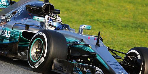 ◎予約品◎1/18 メルセデス AMG ペトロナス フォーミュラ ワン チーム F1 W08 EQ POWER+  バルテリ・ボッタス 2017
