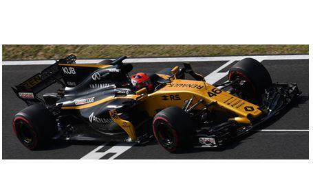 ◆ルノー スポーツ フォーミュラ ワン チーム RS17 ロバート・クビサ  ハンガロリンク テスト 2017