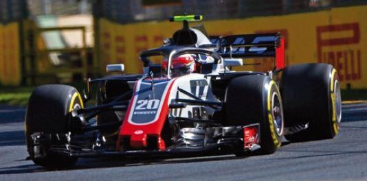 ◆ハース F1 チーム フェラーリ VF-18 ケビン・マグヌッセン 2018