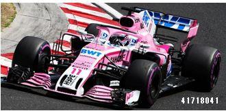 ◆サハラ フォース インディア F1 メルセデス VJM11 セルジオ・ペレス  アゼルバイジャンGP 2018 3位入賞