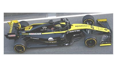 ◆ルノー スポーツ F1チーム R.S. 19 ニコ・ヒュルケンベルグ 2019