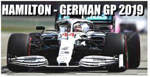 ◎予約品◎ メルセデス-AMG ペトロナス モータースポーツ F1 W10 EQ パワー+  ルイス・ハミルトン ドイツGP 2019