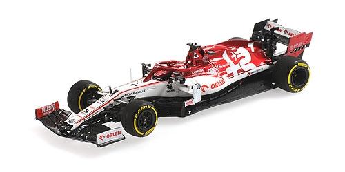 ◆アルファ ロメオ レーシング F1 C39 キミ・ライコネン 2020 LAUNCH SPEC