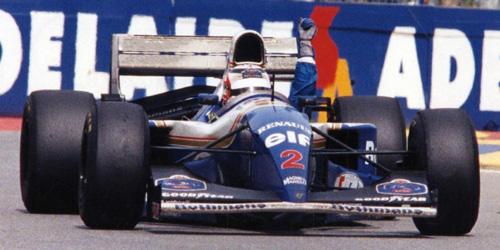 ◆ウィリアムズ ルノー FW16B ナイジェル・マンセル オーストラリアGP ラストウィナー 1994