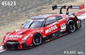 ◆MOTUL AUTECH GT-R GT500 No.23 2018