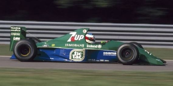 ◆ジョーダン フォード 191 ミハエル・シューマッハー ベルギーGP 1991
