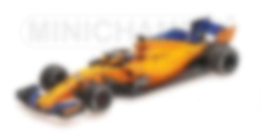 ◆マクラーレン ルノー MCL33 フェルナンド・アロンソ アブダビGP 2018  F1ラストレース