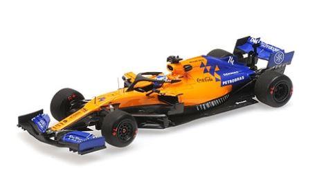 ◆マクラーレン ルノー MCL34 フェルナンド・アロンソ  バーレーン テスト 2回目 4月 2019