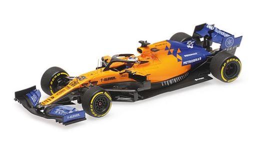 ◆マクラーレン ルノー MCL34 カルロス・サインツ Jr. 2019