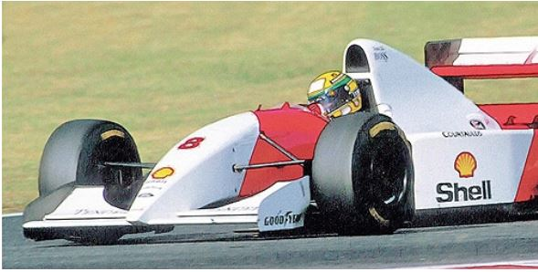 ◆1/18  マクラーレン フォード MP4/8 アイルトン・セナ 日本GP 1993 ウィナー