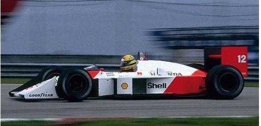 ◆マクラーレン ホンダ MP4/4 アイルトン・セナ ブラジル GP 1988