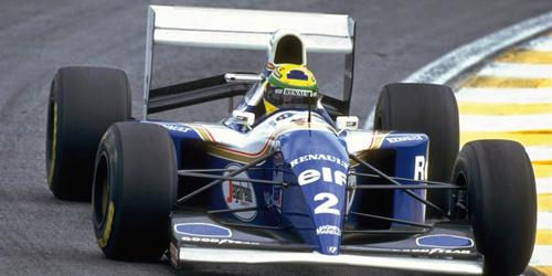 ◆ウィリアムズ ルノー FW16 A .セナ ブラジルGP 1994 セナ・コレクション