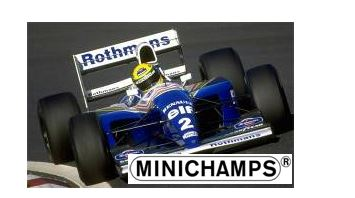 ◆ウィリアムズ ルノー FW16 アイルトン・セナ サンマリノGP 1994