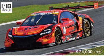 ◎予約品◎ 1/18 ARTA NSX CONCEPT-GT GT500 Rd.2 Fuji No.8 SGT2016
