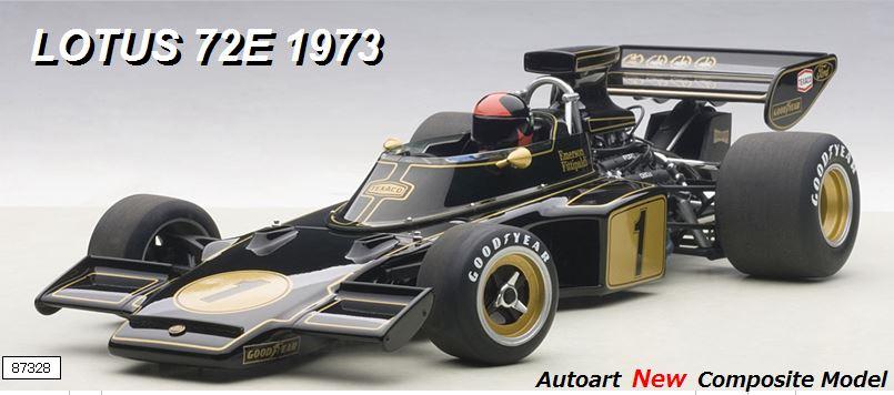 ◆1/18 ロータス 72E 1973 #1 エマーソン・フィッティパルディ (ドライバーフィギュア付き)