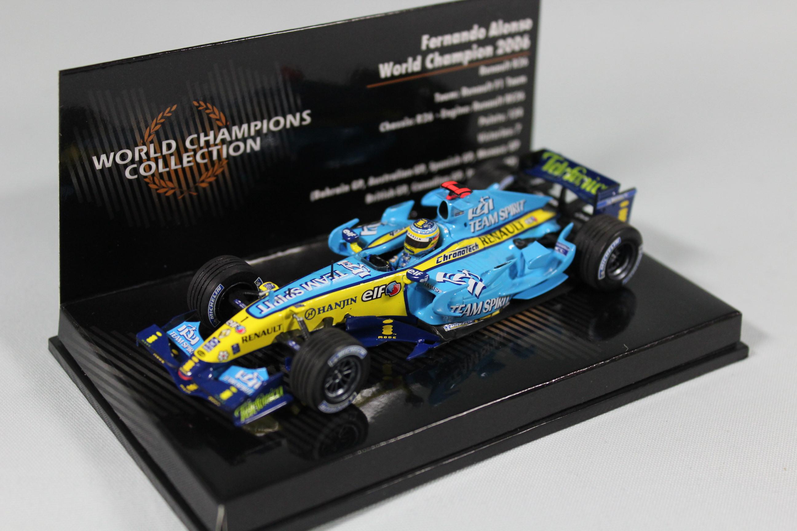 ◆ルノー F1 R26 F.アロンソ 2006 ワールドチャンピオンBOX◆取り寄せ(2週間程で入荷)◆