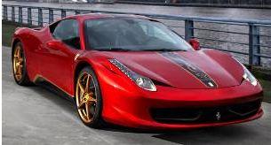 ★発売中止★フェラーリ 458 イタリア チャイナ エディション(レッド/ブラック)
