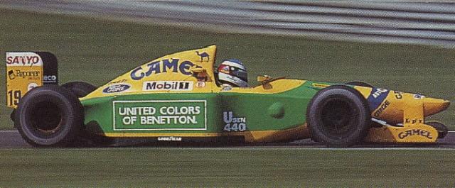 ◆1/18 ベネトン フォード B192 ミハエル・シューマッハー スパ・フランコルシャン 1992  グランプリ初優勝
