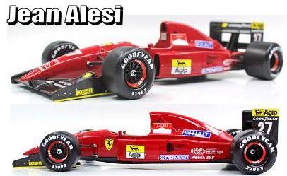 ◎予約品◎1/18 フェラーリ F92A 1992 #27 J.アレジ