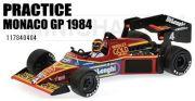 ◎予約品◎1/18 ティレル フォード 012 ステファン・ベロフ モナコGP 1984 プラクティス走行