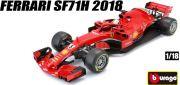 ◎予約品◎ 1/18 フェラーリ SF71H #5 2018 ベッテル (ドライバー付)
