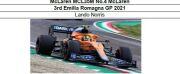 ◎予約品◎ 1/18McLaren MCL35M No.4 McLaren 3rd Emilia Romagna GP 2021   L.ノリス