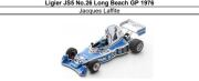 ◎予約品◎1/18 Ligier JS5 No.26 Long Beach GP 1976 Jacques Laffite