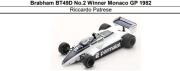 ◎予約品◎1/18 Brabham BT49D No.2 Winner Monaco GP 1982 Riccardo Patrese