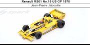 ◎予約品◎1/18 Renault RS01 No.15 US GP 1978 Jean-Pierre Jabouille