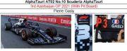 ◎予約品◎ AlphaTauri AT02 No.10 Scuderia AlphaTauri 3rd Azerbaijan GP 2021 (With Pit Board)P.ガスリー