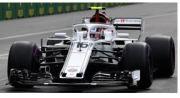◆アルファ ロメオ ザウバー F1 チーム フェラーリ C37 シャルル・ルクレール    アゼルバイジャンGP 2018 6位入賞