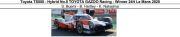 ◎予約品◎ Toyota TS050 - Hybrid No.8 TOYOTA GAZOO Racing - Winner 24H Le Mans 2020  S. Buemi - B. Hartley - K. Nakajima
