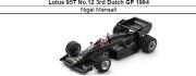 ◎予約品◎ Lotus 95T No.12 3rd Dutch GP 1984 Nigel Mansell
