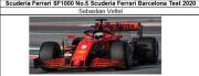 ◆Scuderia Ferrari SF1000 No.5 Scuderia Ferrari Barcelona Test 2020 S.ベッテル