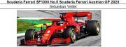 ◎予約品◎1/18 Scuderia Ferrari SF1000 No.5 Scuderia Ferrari Austrian GP 2020 S.ベッテル