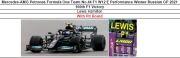 ◎予約品◎ Mercedes-AMG Petronas Formula One Team No.44 F1 W12 E Performance Winner Russian GP 2021 100th F1 Victory  Lewis Hamilton  With Pit Board