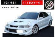 ◎予約品◎1/18  Mitsubishi Lancer Evolution VI GSR T.M.E (CP9A) White (1/18 Scale)