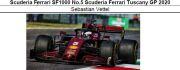 ◎予約品◎ Scuderia Ferrari SF1000 No.5  Tuscany GP 2020 S.ベッテル