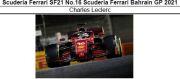 ◎予約品◎Scuderia Ferrari SF21 No.16 Scuderia Ferrari Bahrain GP 2021 C.ルクレール