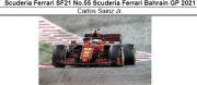 ◎予約品◎Scuderia Ferrari SF21 No.55 Scuderia Ferrari Bahrain GP 2021 C.サインツ Jr.