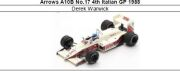 ◎予約品◎ Arrows A10B No.17 4th Italian GP 1988 Derek Warwick