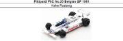 ◎予約品◎ Fittipaldi F8C No.20 Belgian GP 1981  Keke Rosberg