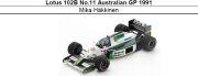 ◎予約品◎ Lotus 102B No.11 Australian GP 1991 Mika Hakkinen